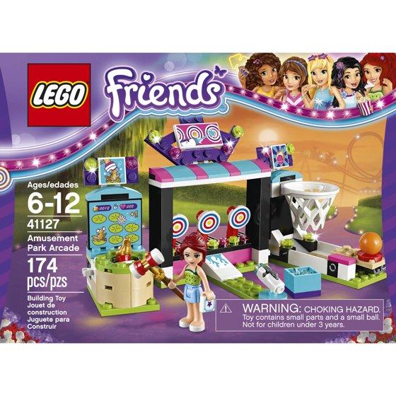 Lego Friends Amusement Park Arcade 41127 Walmart