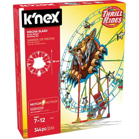 Ferris Wheel Building Set (K'NEX Thrill Rides Mecha Slash Ferris Wheel Building)