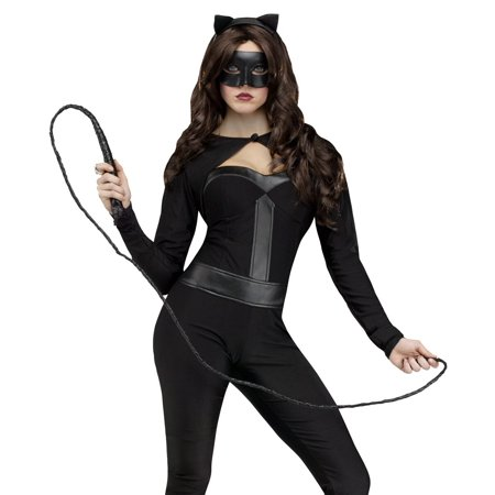 Fun World Sexy Black Cat Jumpsuit Woman Halloween - Cat Women Costume