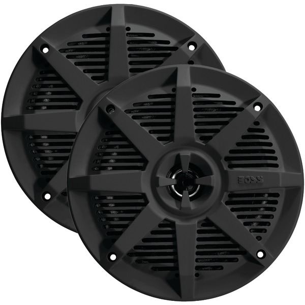 "Brand New BOSS AUDIO MR52B 2-Way Full-Range Marine Speakers (5.25"", Black)"