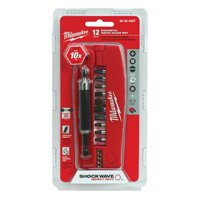 Milwaukee 48-32-4507 12-Piece Shockwave Drive Guide Set
