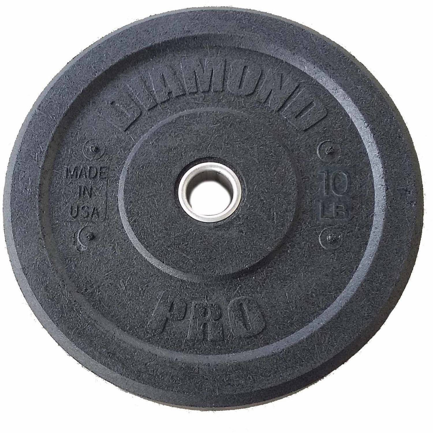 Diamond Pro 10 lb Crumb Bumper Plate Pair, workout routines for women to lose weight,beginning weight loss workout