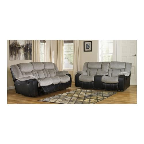 Signature Design by Ashley  Tafton 79205KIT2PC 2-Piece Living Room Set with Reclining Sofa and Double Reclining