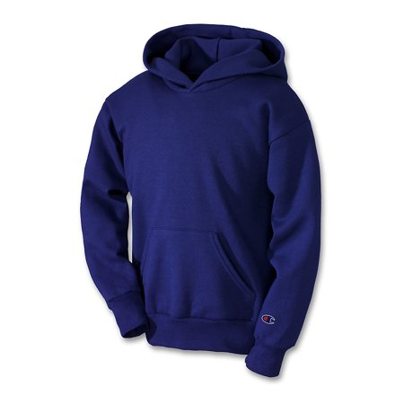 Champion Youth Double Dry Action Fleece Pullover Hood - S790 Champion Double Dry Hooded Jacket