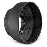 58MM Rubber Lens Hood for Canon Rebel T6i T5i T5 T4i T3i T2i SL1 18-55mm