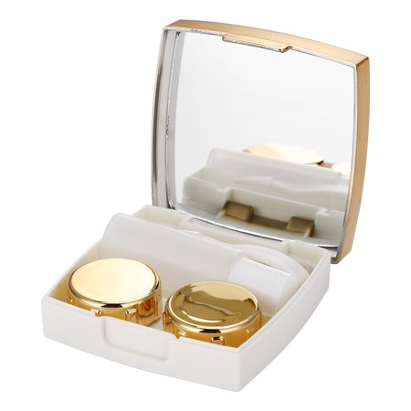 Eyewear Accessories Lower Price with Mini Mirror Contact Lens Travel Kit Easy Carry Case Storage Holder Container Box Back To Search Resultsapparel Accessories