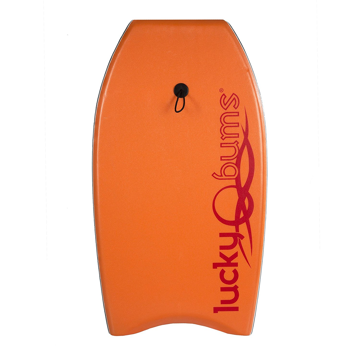 Click here to buy Lucky Bums Durable Body Board EPS Core Slick Bottom Leash Orange 37-Inch by Lucky Bums.