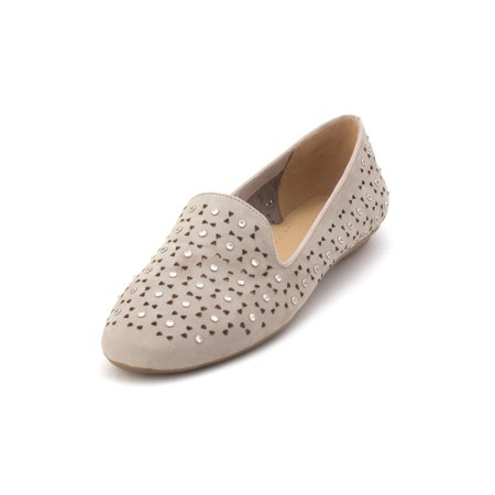 Vaneli Womens Sala Suede Closed Toe Loafers