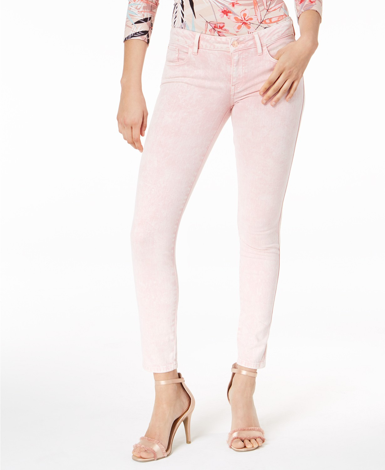 GUESS Power Skinny Jeans Evening Sand 25