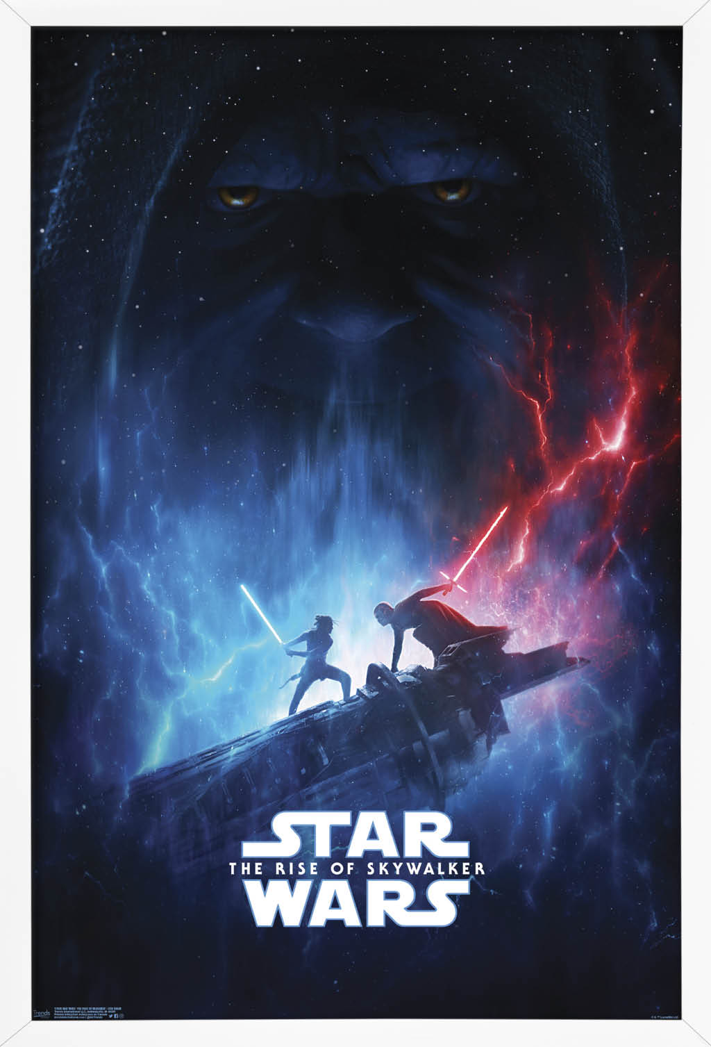Star Wars The Rise Of Skywalker Officially Licensed One Sheet Poster Walmart Com Walmart Com
