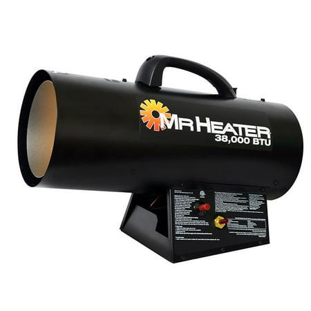 Mr Heater MHQ38FA Garage Workshop LP Propane Forced Air ...