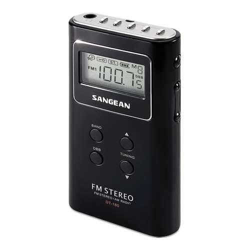 Sangean DT180V - Personal radio - black
