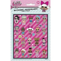LOL Surprise! Sticker Sheets [4 Per Package]