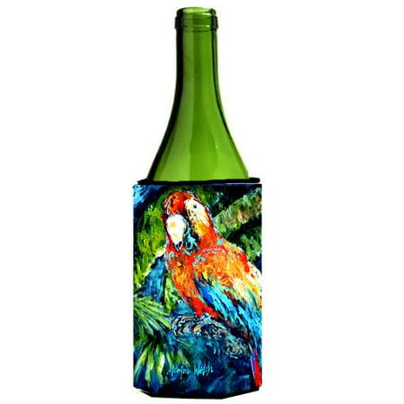 Yo Yo Mama Parrot Wine Bottle Beverage Insulator Hugger MW1204LITERK