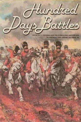 AH: Hundred Days Battles Board Game, 2nd Edition by