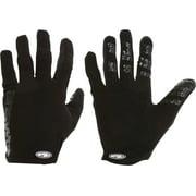 Answer Won Full Finger Glove: Black 2XL