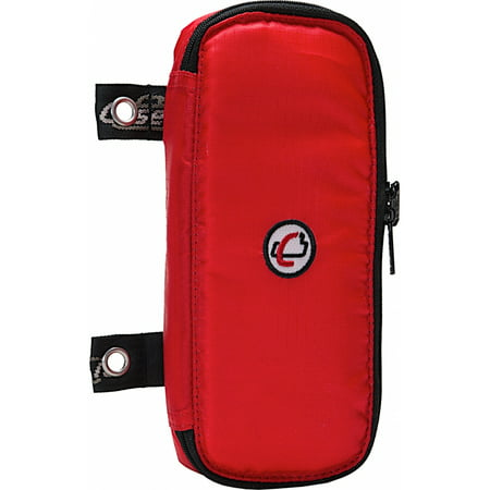 Case It Padded Zipper Pencil Pouch, Red, PLP-02