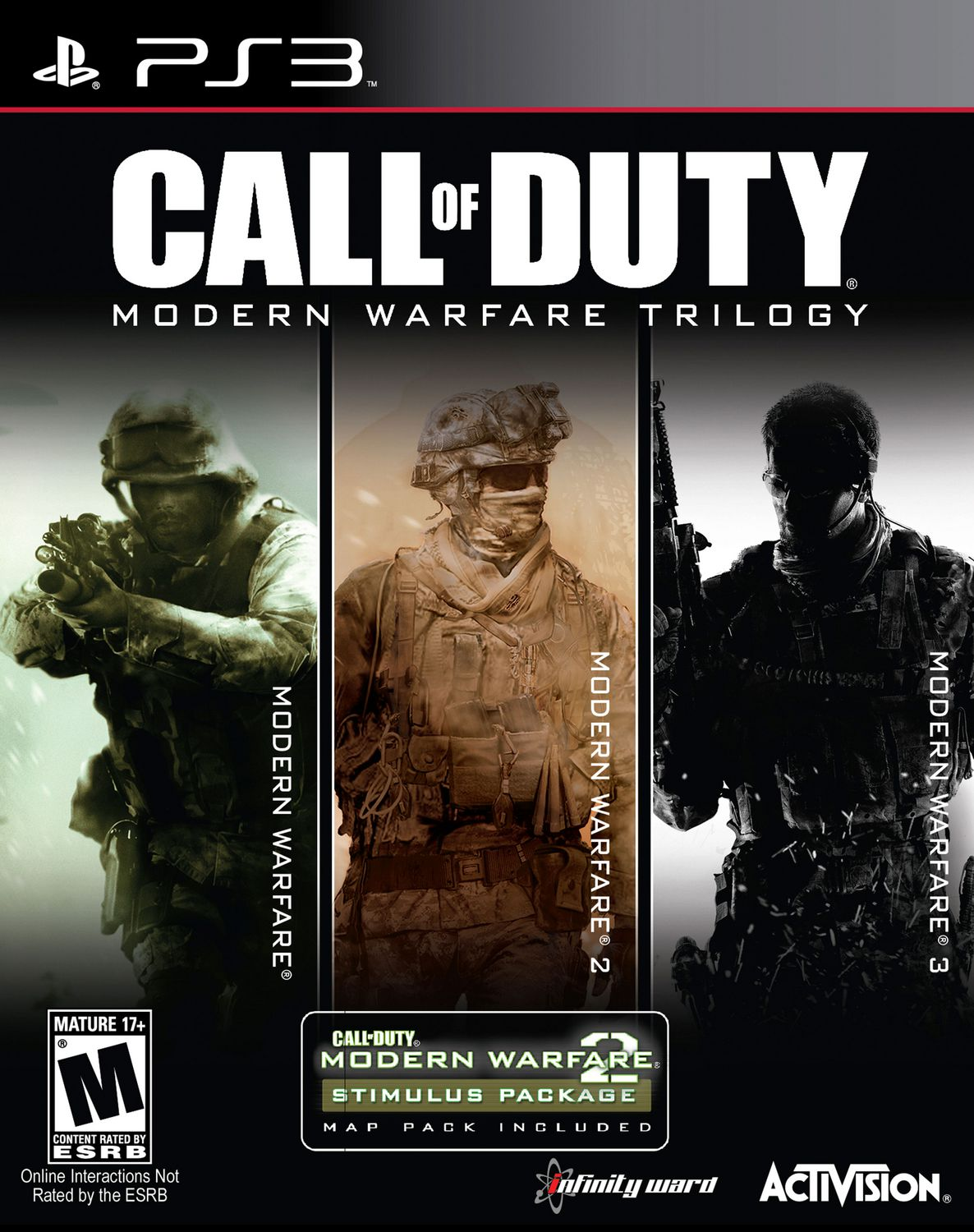 Call Of Duty Modern Warfare Trilogy 3 Discs Activision