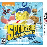 Spongebob Hero Pants The Game 2015 - Nintendo 3DS