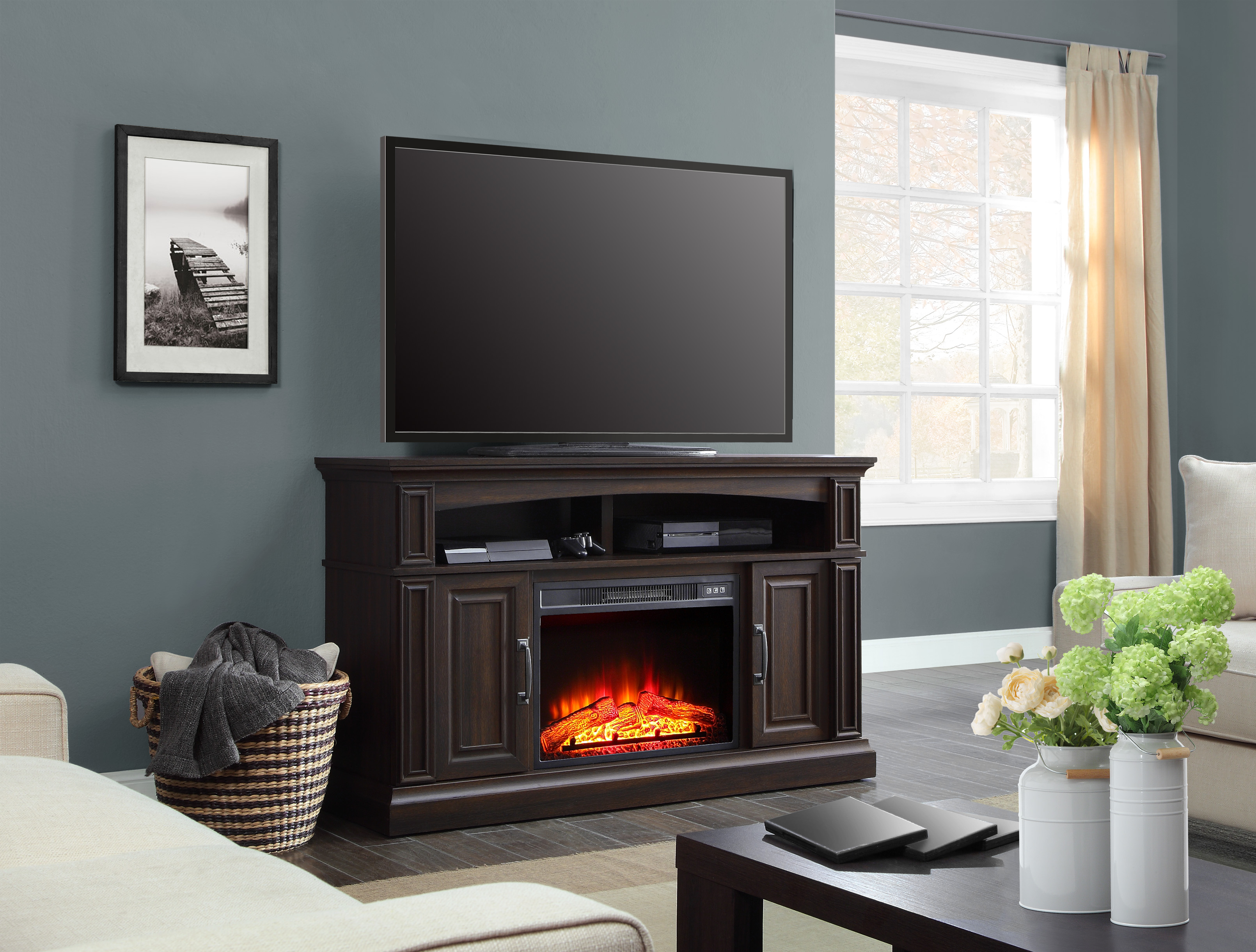 Click here to buy Whalen 55in Media Fireplace for TVs up to 60\ by WHALEN LIMITED.