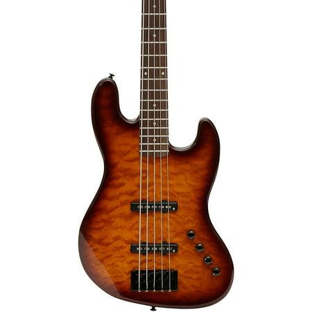 Spector CodaBass5 Pro 5-String Electric Bass Guitar 2-Color Sunburst ()