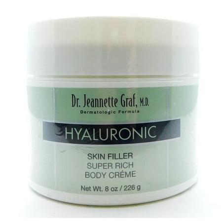 Dr. Jeannette Graf Hyaluronic Skin Filler Super Rich Body Creme 8 (Rich Body Cream)