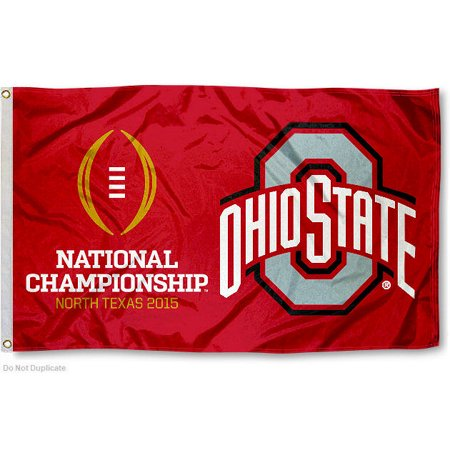 Ohio State Buckeyes National Championship Game 3 X 5 Pole Flag