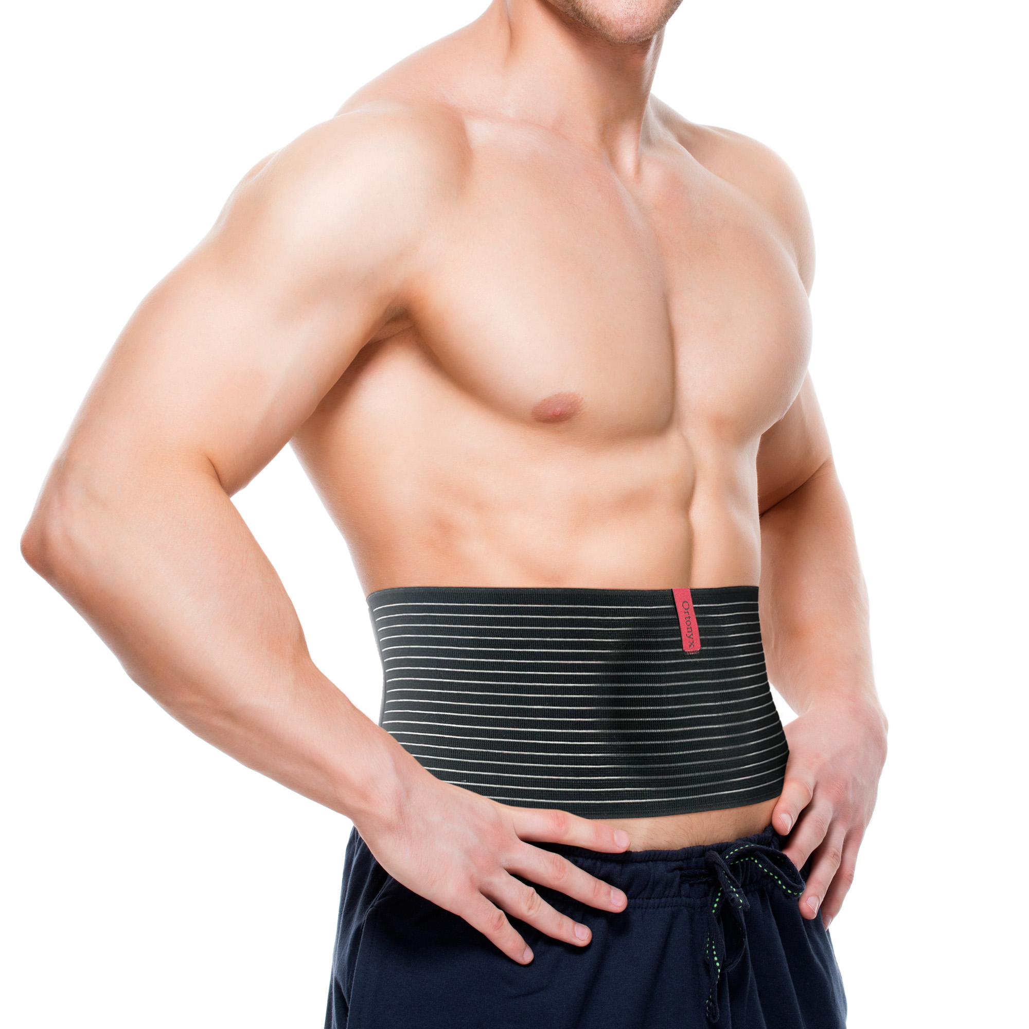 ORTONYX Umbilical Hernia Belt   Abdominal Binder Support Binder by UFEELGOOD
