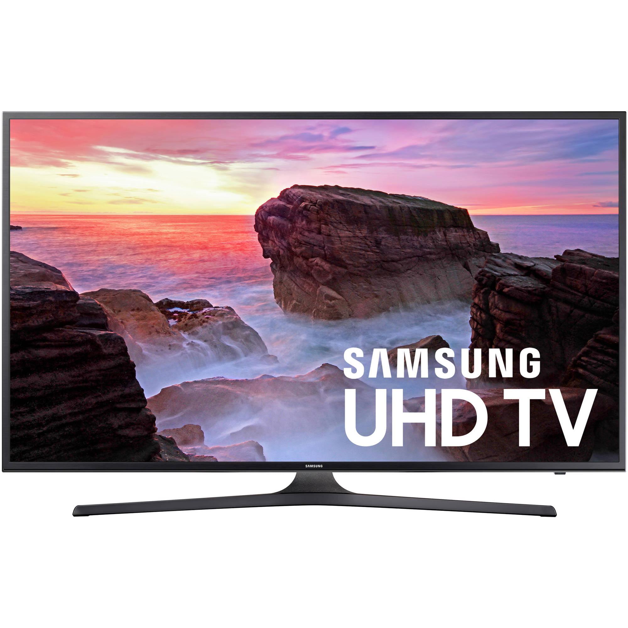 """Samsung 65"""" Class 4K (2160P) Smart LED TV (UN65MU6300) by Samsung"""