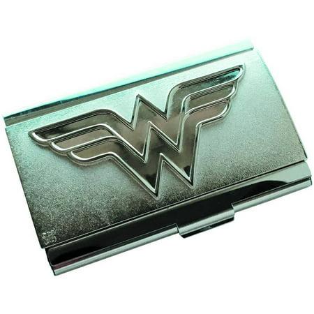 Classic Womens Business Card Case - Wonder Woman Logo Px Business Card Case