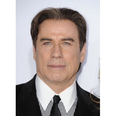 John Travolta At Arrivals For American Crime Story The People Vs O J Simpson Premiere On Fx Stretched Canvas -  (16 x