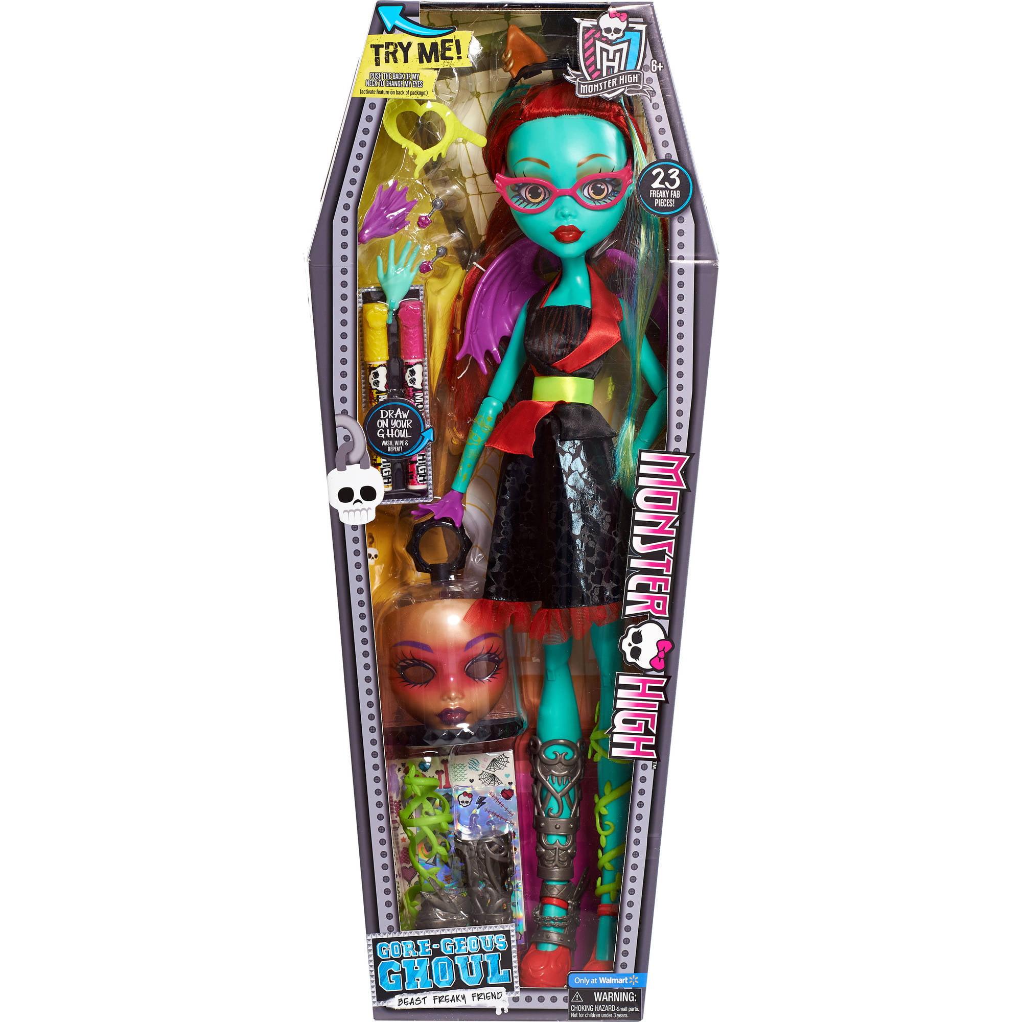 Uncategorized Monster Dolls monster high beast bites cafe draculaura doll playset walmart com