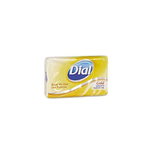 Individually Wrapped Antibacterial Soap, Pleasant, Gold, 4oz Bar, 72/Carton