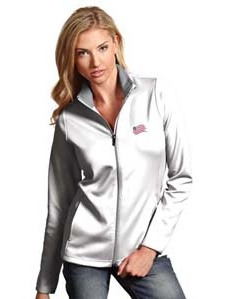 New England Revolution Womens Leader Jacket (Color: White) by