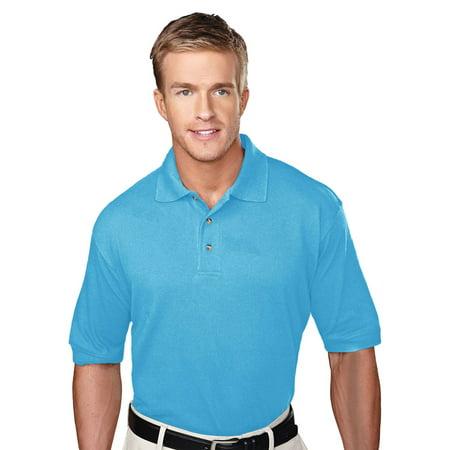 Tri Mountain Mens Big And Tall Pique Golf Shirt