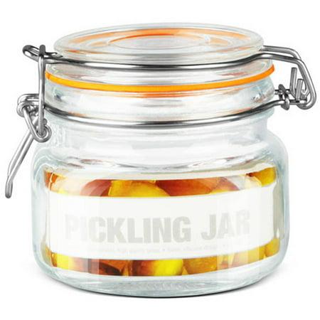 Home Basics Glass Pickling Jar with Lid ()