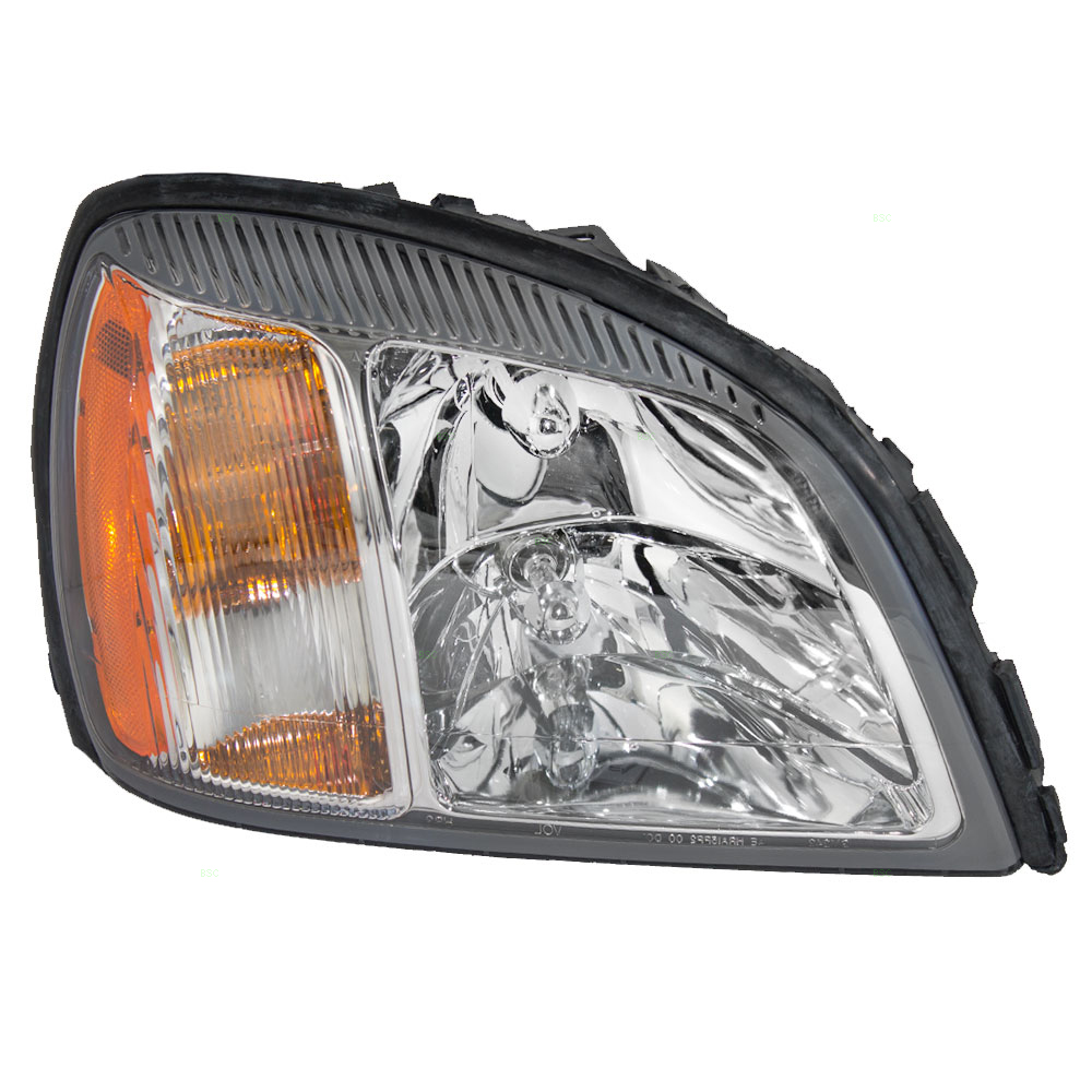 Passengers Headlight Headlamp Replacement for Cadillac 19245432