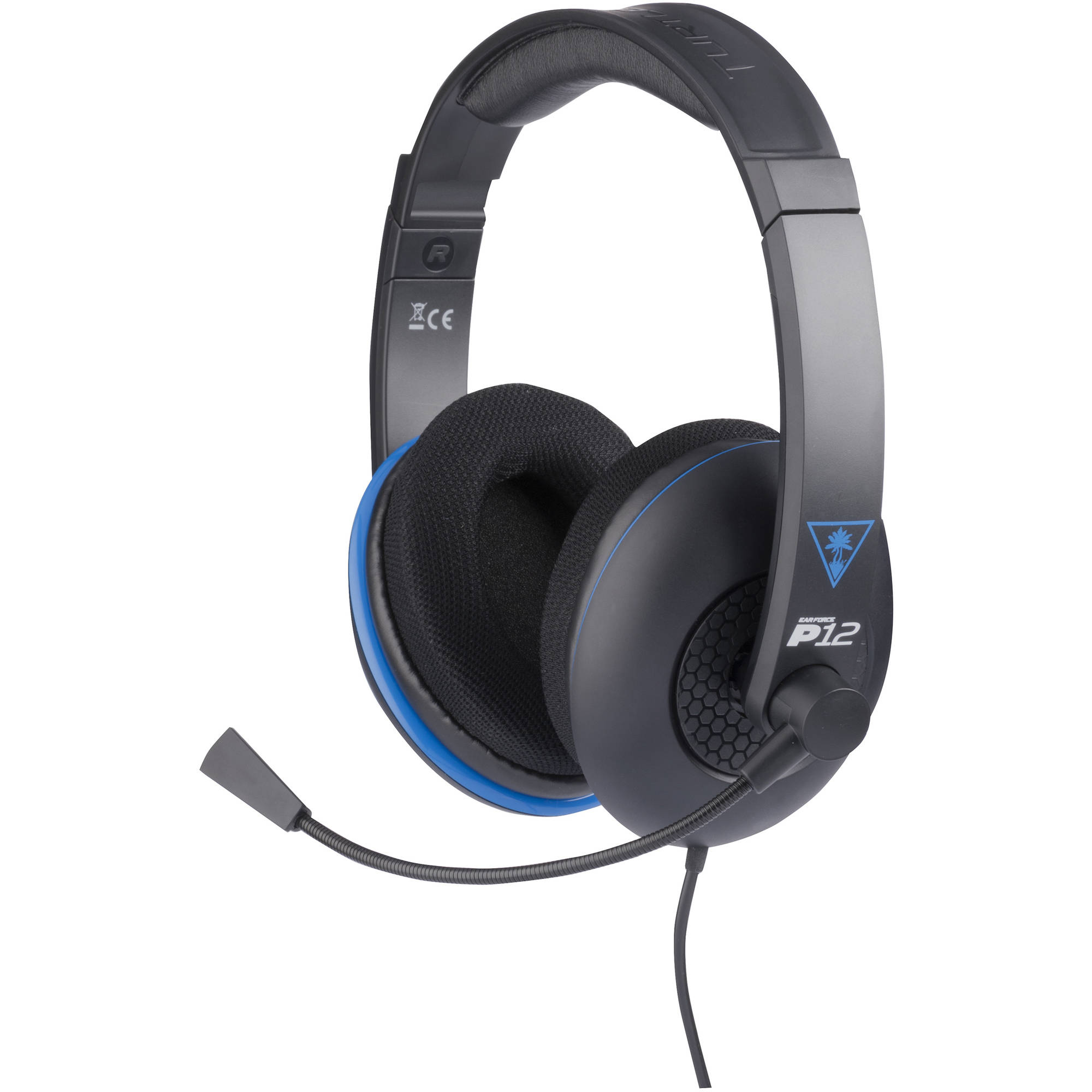 Refurbished Turtle Beach P12 Gaming Headset for PlayStation 4