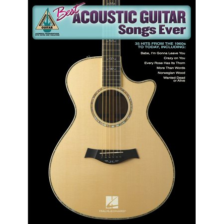 Best Acoustic Guitar Songs Ever (Songbook) - (Best Acoustic Guitar Player Ever)