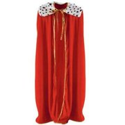 1PK King/Queen Adult Size Red Robe ,Item per pack: 1eachSize: Adult