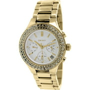 Women's Chambers NY2259 Gold Stainless-Steel Quartz Watch