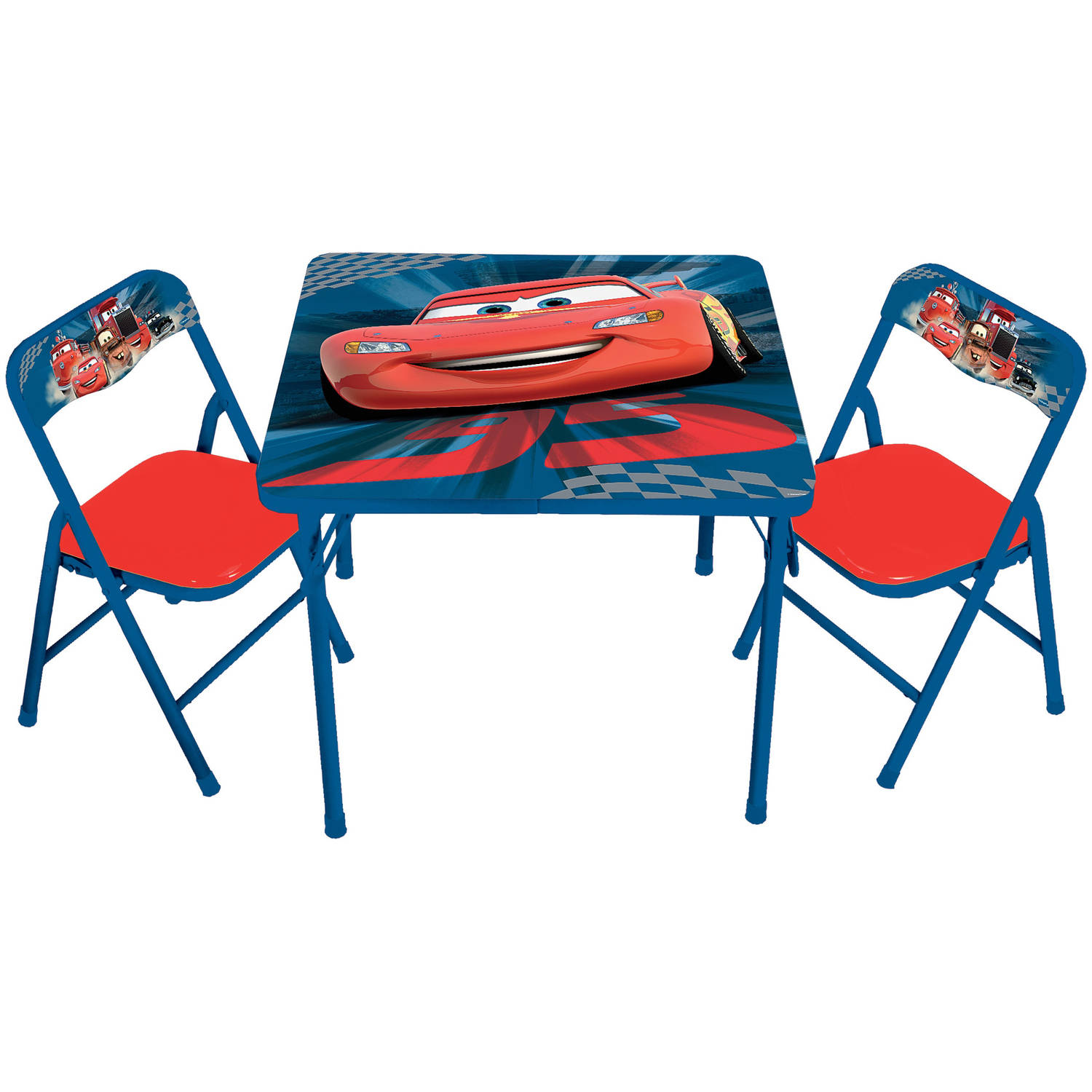 Disney Cars Hometown Heroes Erasable Activity Table Set