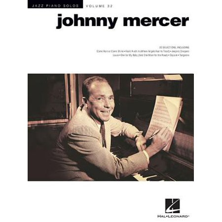 Johnny Mercer : Jazz Piano Solos Series Volume 32 Jazz Trumpet Solos Book