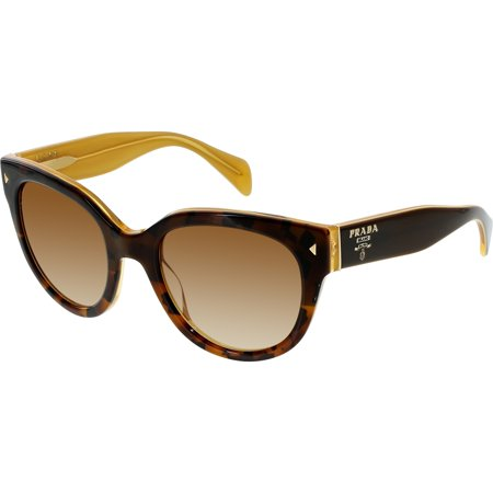 ee919d3ba8 Prada - Women s Gradient PR17OS-FAL1Z1-54 Tortoiseshell Butterfly Sunglasses  - Walmart.com
