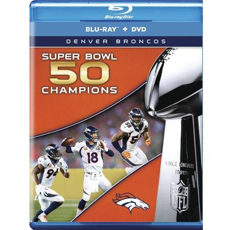 Nfl Super Bowl 50 Champions  Blu Ray