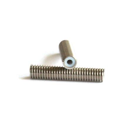 2pcs MK8 M6 * 40mm Stainless Steel Nozzle Extruder Throat Teflon Tubes Pipes for 1.75mm Filament 3D Printer Parts - image 1 de 6
