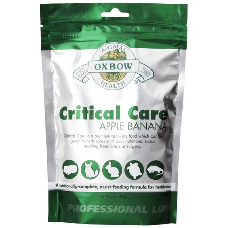 OXBOW Critical Care Apple Banana Supplement  Formula 454g Critical Liver Care