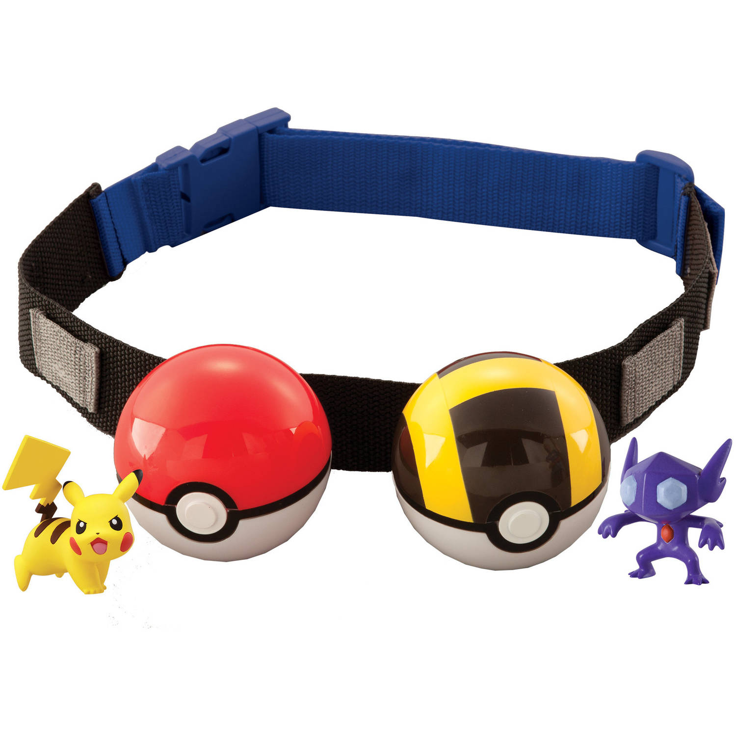 Pokemon clip n carry poke ball belt sableye and ultra ball with