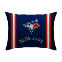 "Toronto Blue Jays 20"" x 26"" Plush Bed Pillow - Blue"