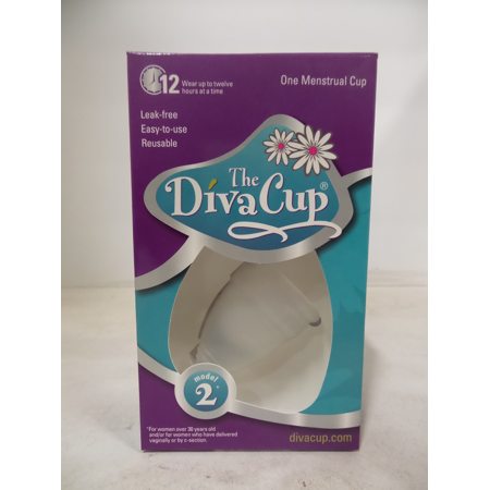 The Diva Cup Model #2 Menstrual Cup-Pack of (48k Cup)